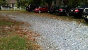 Unmaintained Driveway